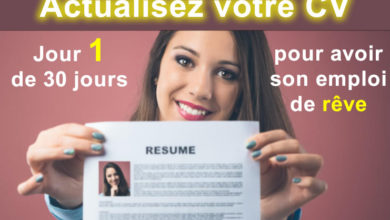 Photo of Actualisez votre CV